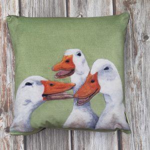 What's The Quack? - Velvet Cushion