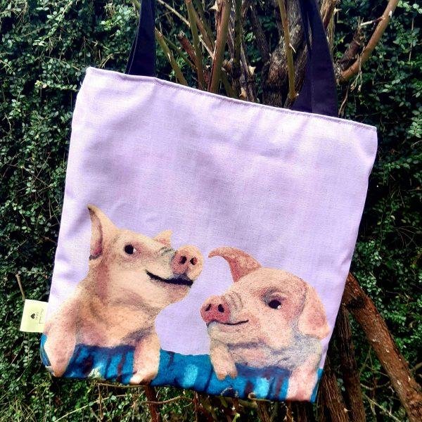 Who's Telling Porkies? - Eco Tote Bag - 20210203 155122
