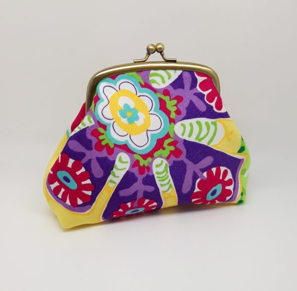 Lotus Flower Clutch Bag