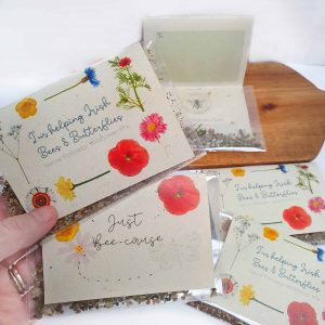 Irish Wildflower Seed Gift Card Bee & Butterfly Friendly Mix