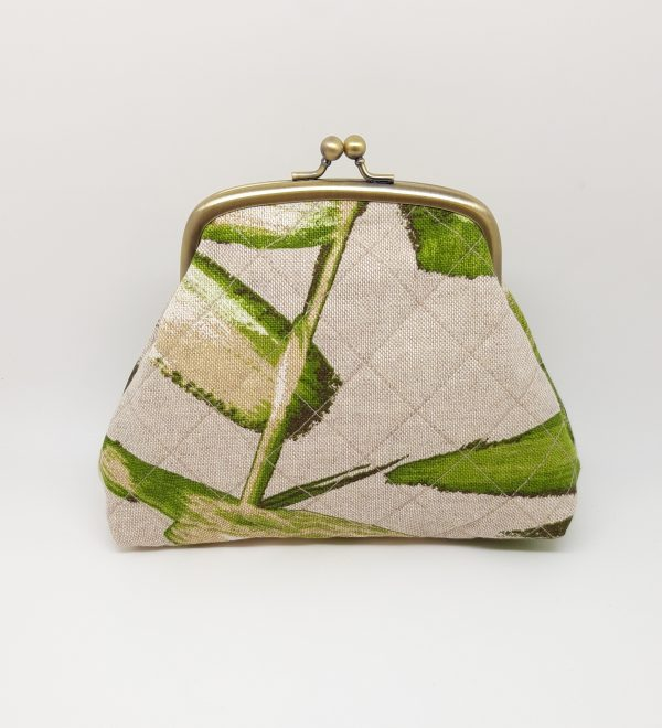 Quilted Green Clutch Bag - 20210223 220353