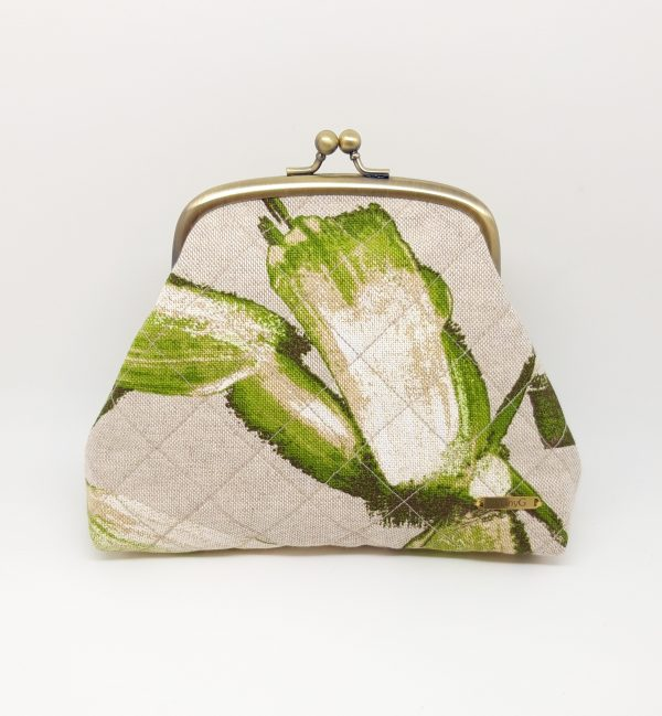 Quilted Green Clutch Bag - 20210223 220437