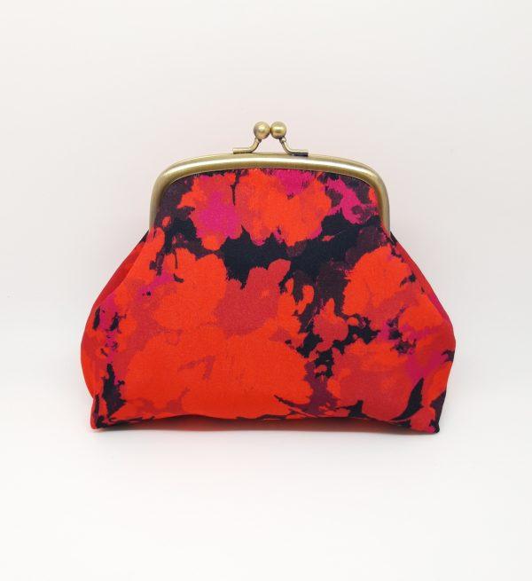 Fire Red Clutch Bag - 20210224 221328