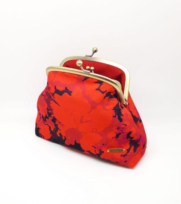 Fire Red Clutch Bag - 20210224 222037