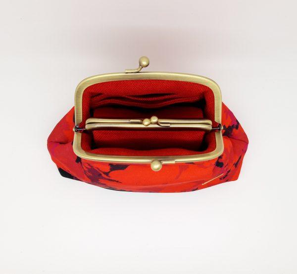 Fire Red Clutch Bag - 20210224 222141