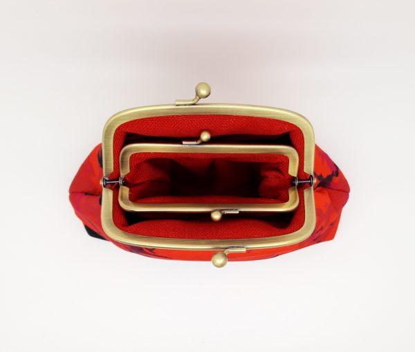 Fire Red Clutch Bag - 20210224 222240