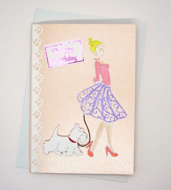 Handmade Birthday Card - 25c - 25d