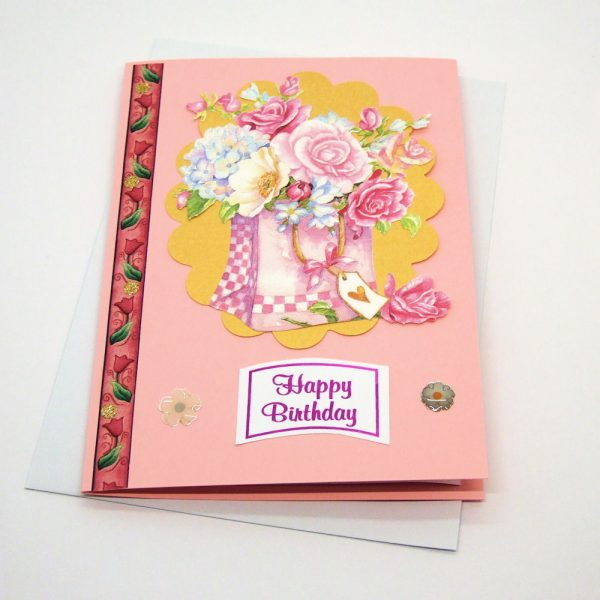 Handmade Birthday Card - 653
