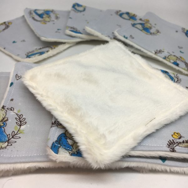 Reusable Wipes Rabbit Mother and Baby - 4F5C531D 791E 43CB 9225 A5A6813DA8EA rotated