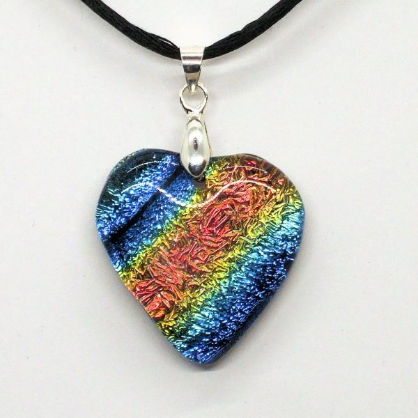 Fused-Glass Pendant - 130a - 527a