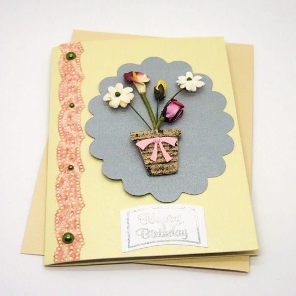 Handmade Birthday Card - 610b - 610c