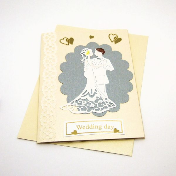 Handmade Wedding Card - 613