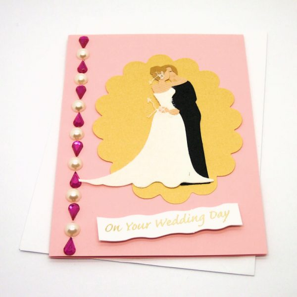 Handmade Wedding Card - 617
