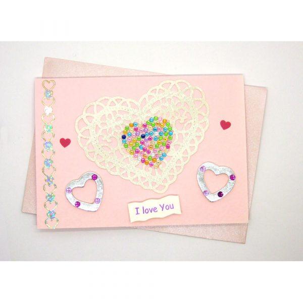 Handmade Love/Valentines Card - 620c - 620c