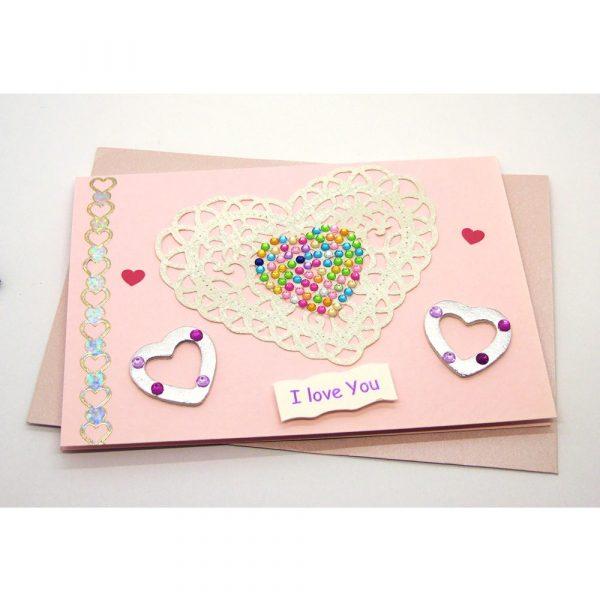 Handmade Love/Valentines Card - 620c - 620d