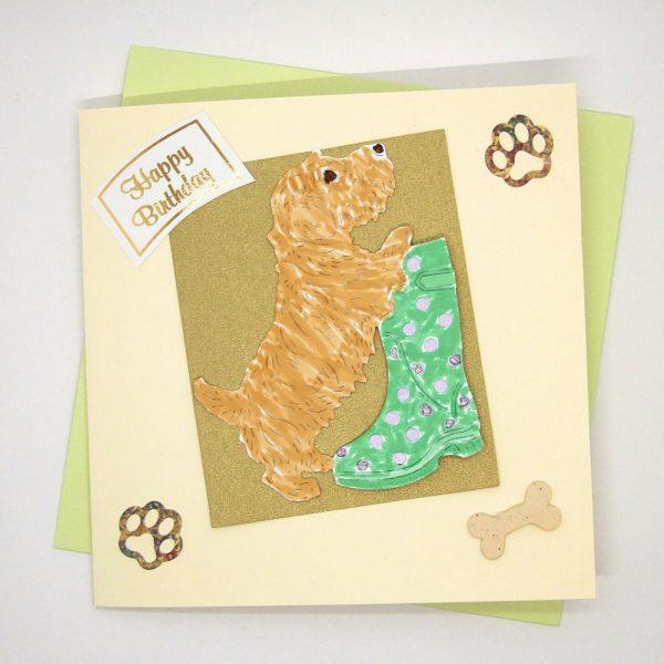 Handmade Birthday Card - 625