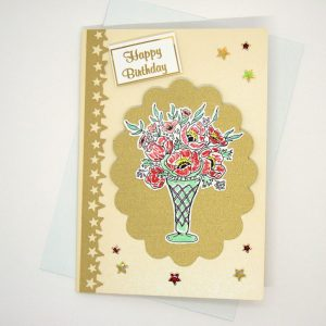 Handmade Birthday Card - 629