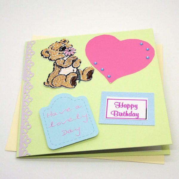 Handmade Birthday Card - 630 - 630b
