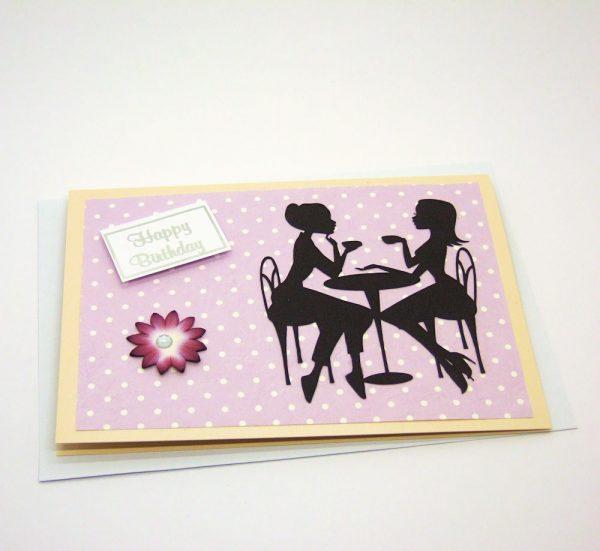 Handmade Birthday Card - 631 - 632a