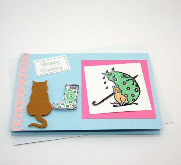 Handmade Birthday Card - 633