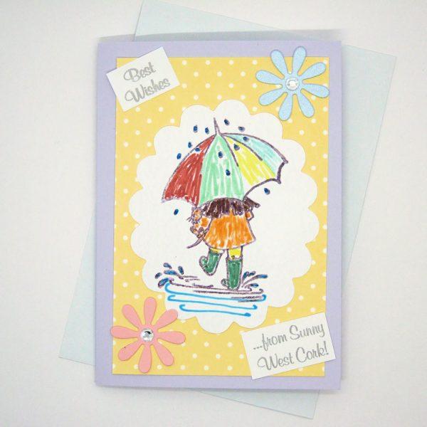 Handmade Best Wishes Card - 635