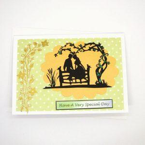 Handmade Greetings Card - 645