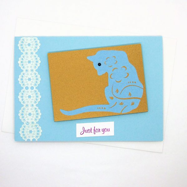 Handmade Greetings Card - 649 - 649a