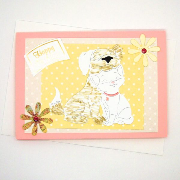 Handmade Birthday Card - 652