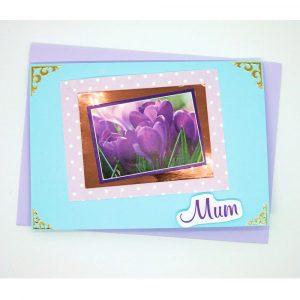 Handmade 'Mum / Mothers' Day' Card - 655