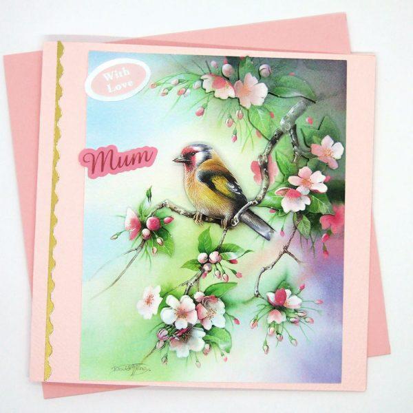 Handmade 'Mum / Mothers' Day' Card - 656c - 656c