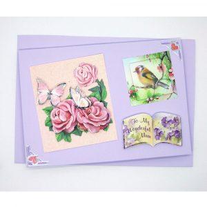 Handmade 'Mum / Mothers' Day' Card - 657