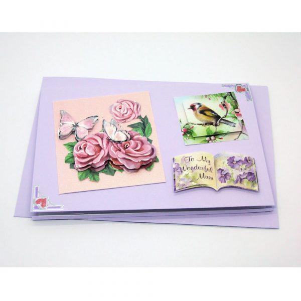 Handmade 'Mum / Mothers' Day' Card - 657 - 657b