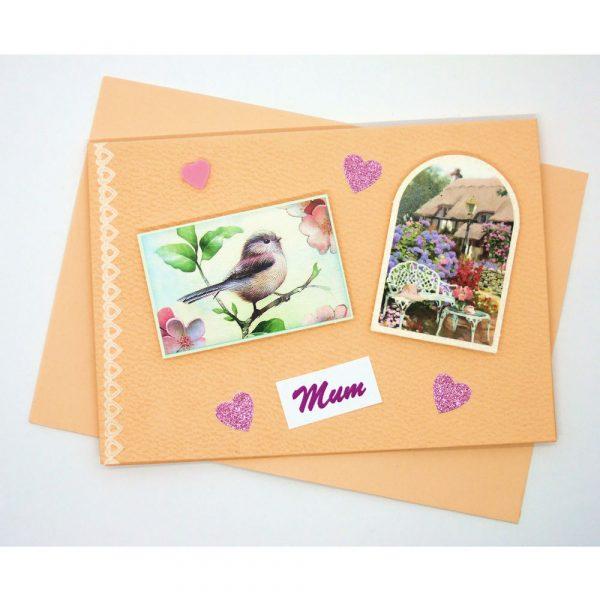 Handmade 'Mum / Mothers' Day' Card - 658