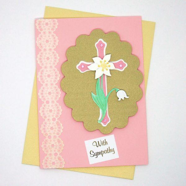 Handmade 'Sympathy' Card - 667 - 667a