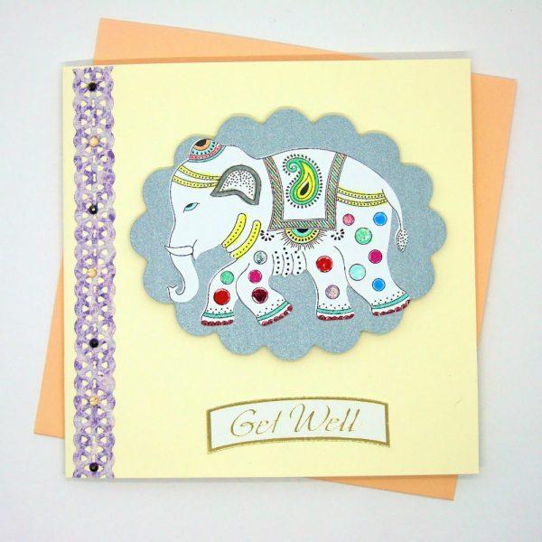 Handmade 'Get well' Card - 668