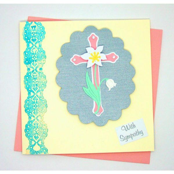Handmade 'Sympathy' Card - 669 - 669a