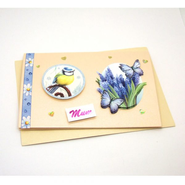 Handmade 'Mum / Mothers' Day' Card - 675 - 675b