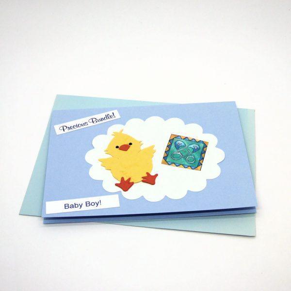 Handmade Baby Card - 676 - 676b