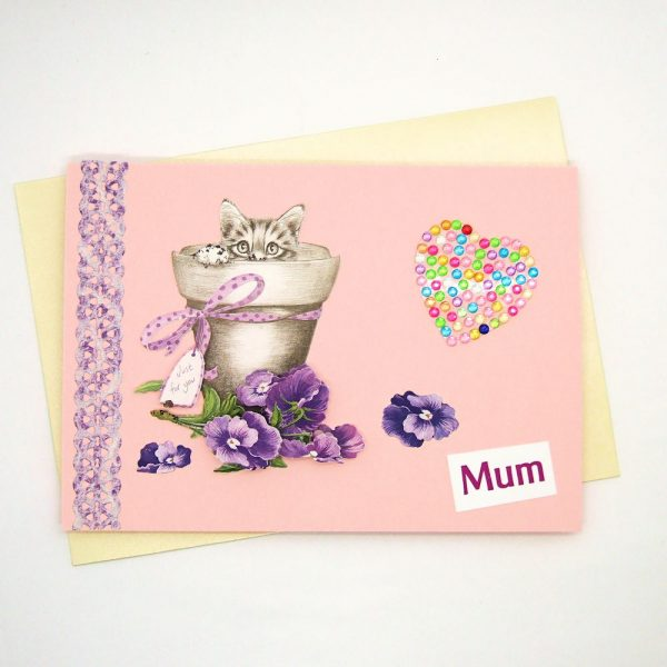 Handmade 'Mum / Mothers' Day' Card - 686
