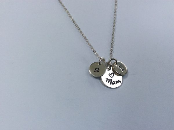 Mothers Day Mam Nana Necklace with Children Initials - 82FECDE2 8C69 4CBA 9FFE 70814BFD8B33