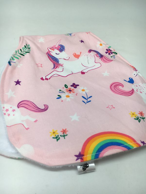 Burp Cloth unicorn