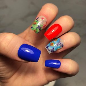 Tropical Mix and Match Press-On Nails