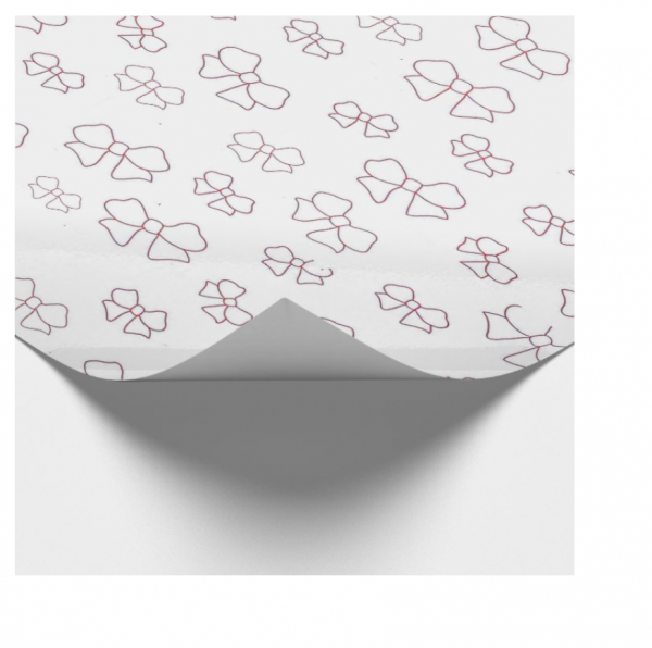 Baby Girl Gift Wrapping and Card Set - Baby Girl Wrapping Paper 2