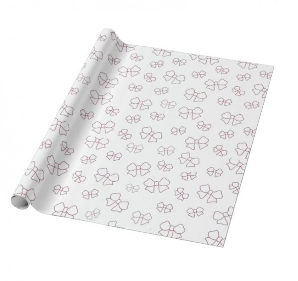 Baby Girl Gift Wrapping and Card Set