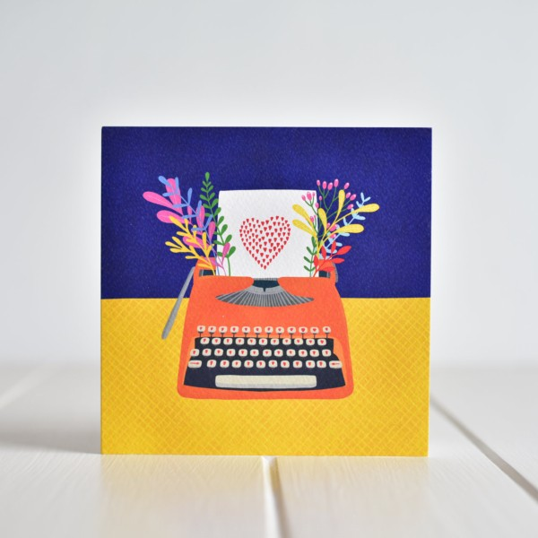 Greeting card - You're My Type