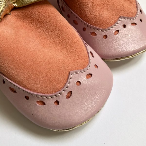 Leather Brogue Moccasin Shoes with Bows - E4BEF03D 1DE6 4540 9AE8 3E24355A646B