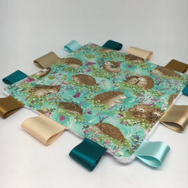 Baby Gift Set Hedgehog Turquoise - E9A2DF5D 7C51 4C60 9A60 EC6EE19B445B rotated