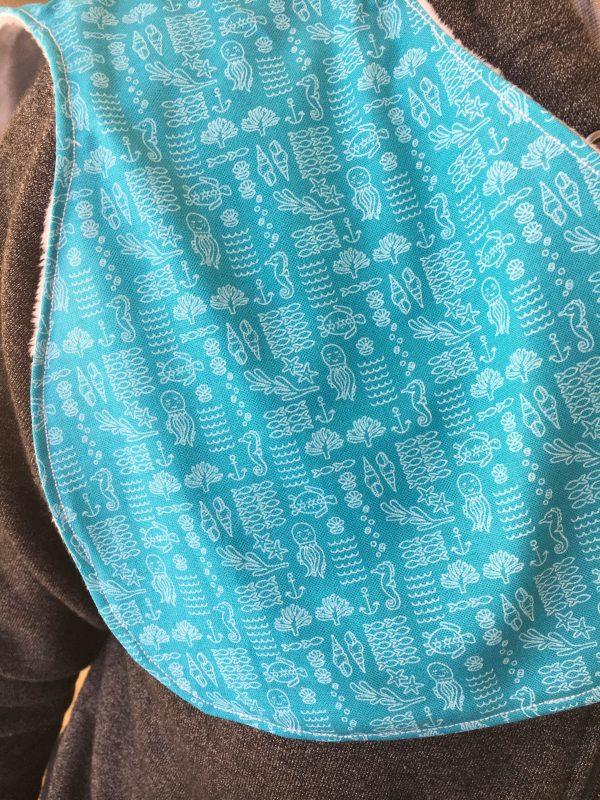 Burp Cloth sea creatures - EA39F7FC 4481 4D97 9254 30EA418AEB35 rotated