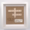 Personalised Rustic Engaged Frame