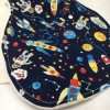 Burp Cloth spaceship
